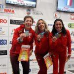 Plata para Isabel Ruiz con España en los 10 K. Marcha por Equipos W45 en el Mundial de Torun.